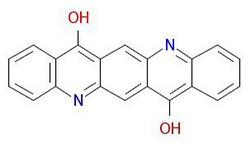 Pigmento-viola-19-Molekula-Strukturo